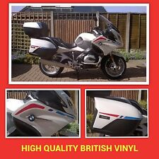 TRI COLOUR STRIPE KIT FAIRING AND PANNIER BMW R1200RT WATER COOLED GRAPHICS