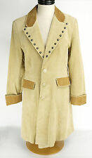 NEW With Tags Womens SCULLY Western Suede Duster 14