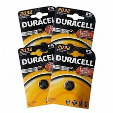 4 Batterien CR2032 DURACELL knopf Lithium 3V CR 2032 DLC 2024