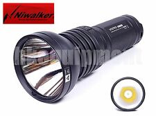 Niwalker Vostro Negro BK-FA09S cree XHP35 2400lm 1490M LED antorcha