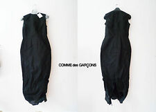 NEW COMME DES GARCONS   RUNWAY BLACK DRESS