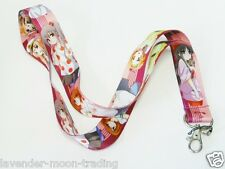 Anime japonés cordón Correa De Cuello Id Holder (para keys/phone/ipod)