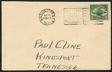 #C4 ON F.D.C. TO TENNESSEE WITH ENCLOSURE & CERT 1923 BT3810