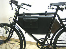 Rahmentasche Leder Fahrradtasche Schweizer Militärrad Velo Militär Fahrrad