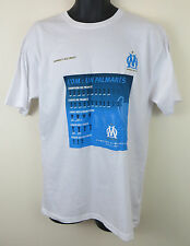 BNWT Official Olympique De Marseille Football Shirt Maillot T-shirt Tee L Large