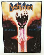 DESTRUCTION BACKPATCH / SPEED-THRASH-BLACK-DEATH METAL