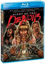Night of the Demons [2 Discs] [DVD/Blu-ray] (2014, REGION A Blu-ray New)