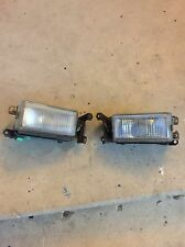 90-91 Honda prelude front bumper fog lights set pair si