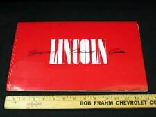 1941 Lincoln Dealer Presentation Album Car Brochure RARE