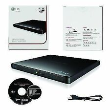 LG External Slim Portable DVD Writer TV Connectivity VIA USB Model GP65NB60