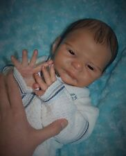 Reborn baby doll from SOLE kit Cassia, reborn at Kelly's TinyToes Reborn Nursery