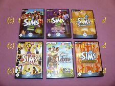 6x Die Sims _ Die Sims 2 & Die Sims Tiergeschichten & Die Sims 2 Super DeLuxe...