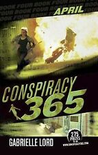 EXC COND Conspiracy 365 - August - by Gabrielle Lord  - FREE POST