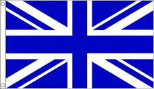 5' x 3' Royal Blue and White Union Jack Flag Sport Team Banner