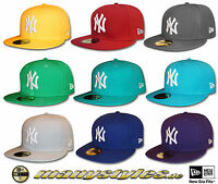 NY YANKEES assorted MLB Basic NEW ERA 59FIFTY CAP different Colors NEW YORK CAPS