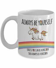 Unicorn Always Be Yourself 11oz Mug Cup - Funny Novelty Tea Coffee Ceramic NEW
