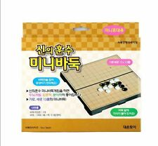 new Play Go Baduk & Omok Travel Mini Magnetic Korean go Board Game 바둑 오목