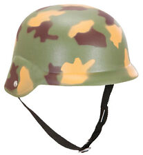 Militär Camouflage Helm NEU - Karneval Fasching Hut Mütze Kopfbedeckung