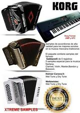 Korg Samples De Accordion Gabbanelli, Hohner Y Weltmeister