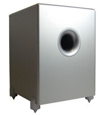 HEAT Audio Reference Sub 300 A silber -  30 cm aktiv Subwoofer