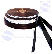 Magnetband für Fliegengitter selbstklebend, Typ A und B, 1,5mm x 25,4mm - je 10m