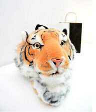 Girl Schoolbag Tide Tiger Head Lion Head Backpack Bag Rucksack Shoulder Bag