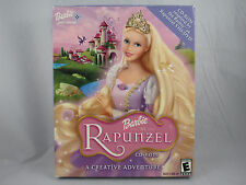 Barbie as Rapunzel CD-ROM Big Box (Windows/Mac, 2002)