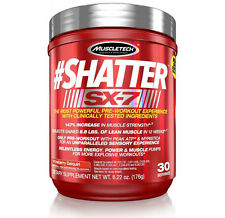 MuscleTech SHATTER SX-7 30 Servings Pre-Workout - Increase Muscle Strength