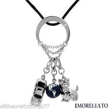 RARE!!!   NWT & Original Box MORELLATO Necklace Diamond  SCOTTY DOG Auto Car