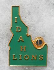 BOU580 - INSIGNE BOUTONNIERE - PIN'S - LIONS CLUB - IDAH