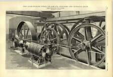 1888 Birmingham Cable Tramways Engines And Winding Gear