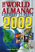The World Almanac and Book of Facts 2002, Ken Park, Good Condition, Book