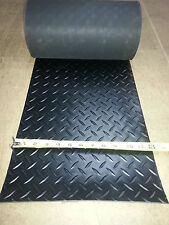 "DIAMOND RUBBER MATTING ROLL  12"" WIDE X 20/25 FT LONG"