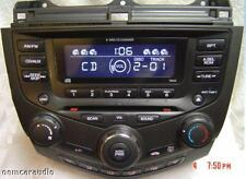 03 04 05 06 07 HONDA Accord Radio Stereo 6 Disc Changer CD Player 7BX0 Coupe EX
