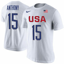 NWT NIKE 2016 Team USA Basketball Carmelo Anthony Replica Jersey Tee #15 2XL XXL