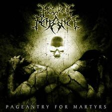 HOUR OF PENANCE - Pageantry for martyrs LP (Osmose, 2012) *green vinyl edition