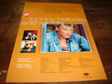 JOHNNY HALLYDAY - PUBLICITE ANTHOLOGIE !!!! VOL 3 !!!!!