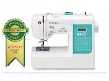 NEW Singer Stylist 7258 Computerized Sewing Machine: 100 Built-in Stitches/LCD