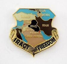 Wholesale Lot Of 12 Iraqi Freedom Lapel Hat Pin Military Marines Army PPM714