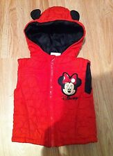 Girls bomber jackets Body Warmer Minnie Mouse 12/18 MONTHS