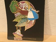 Alice In Wonderland AND Cheshire Cat Jumbo Pin LE 750 Disney Artist Collection