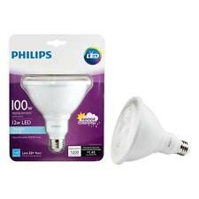 Philips 100W(12W) Daylight(5000K) PAR38 Ambient Indoor/Outdoor LED Flood Light
