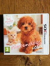 Nintendogs + Cats Toy Poodle (unsealed) - 3DS New!