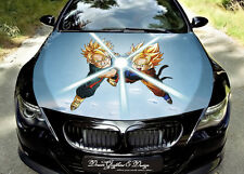 Anime Full Color Graphics Adhesive Vinyl Sticker Fit any Car Bonnet #095