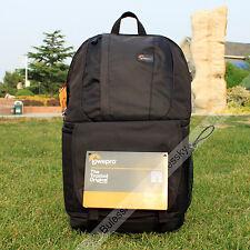 Lowepro Fastpack 350 DSLR Camera Photo Bag Backpack & 17'' Laptop Case (Black)