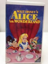 WALT DISNEY'S  ALICE In WONDERLAND #036 VHS BLACK DIAMOND CLASSICS FILM RARE