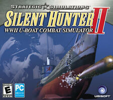 Silent Hunter II 2 - Naval Combat Ship WW2 Submarine Simulation PC Game NEW