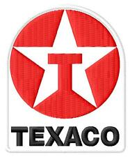 Texaco toppa ricamata termoadesivo iron-on patch Aufnäher