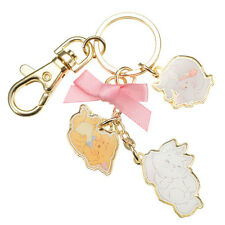The Aristocats Lovely ❤ Key chain Disney Store Japan Marie Toulouse Berlioz