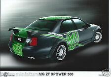 Mg ZT Xpower 500 Original fotografía de prensa Perfecto Estado RGS 0701 276